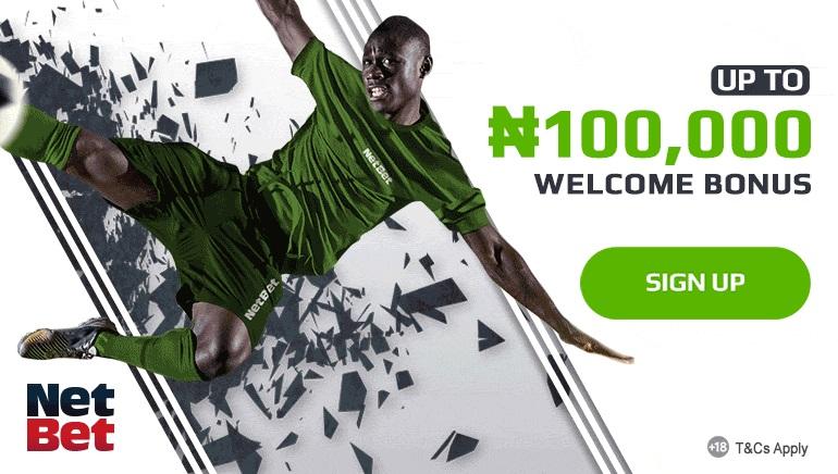 NetBet Sports Betting Nigeria - Up to ₦100,000 Welcome Bonus